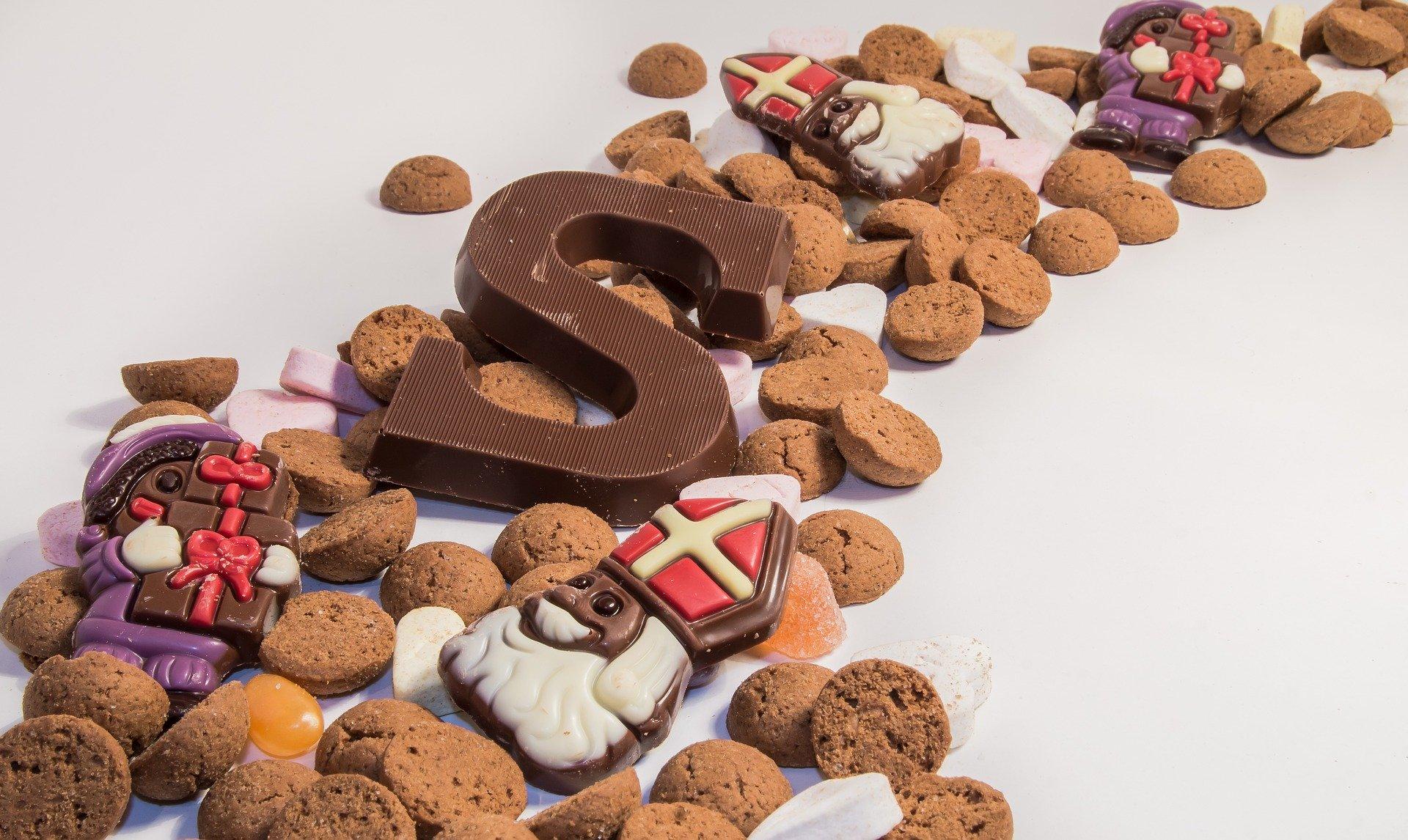Sinterklaas-chocoladeletter