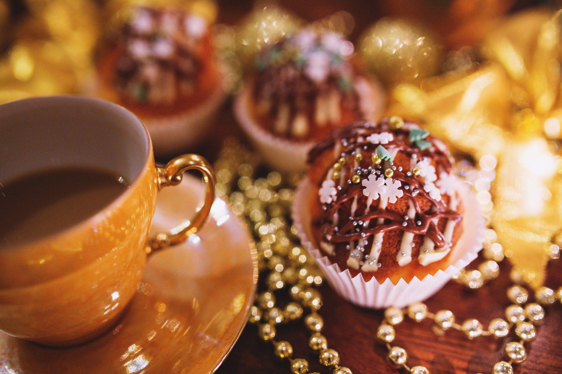 Kerst dronken muffins