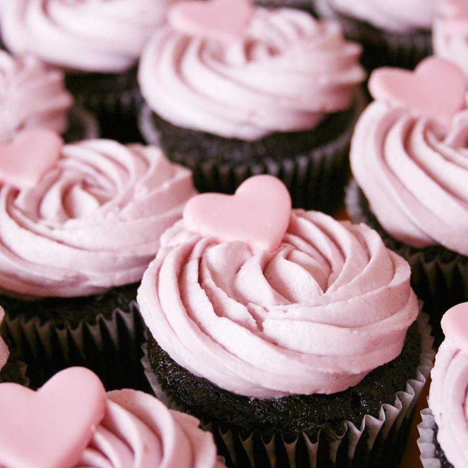 Valentijns Heavenly Cupcakes