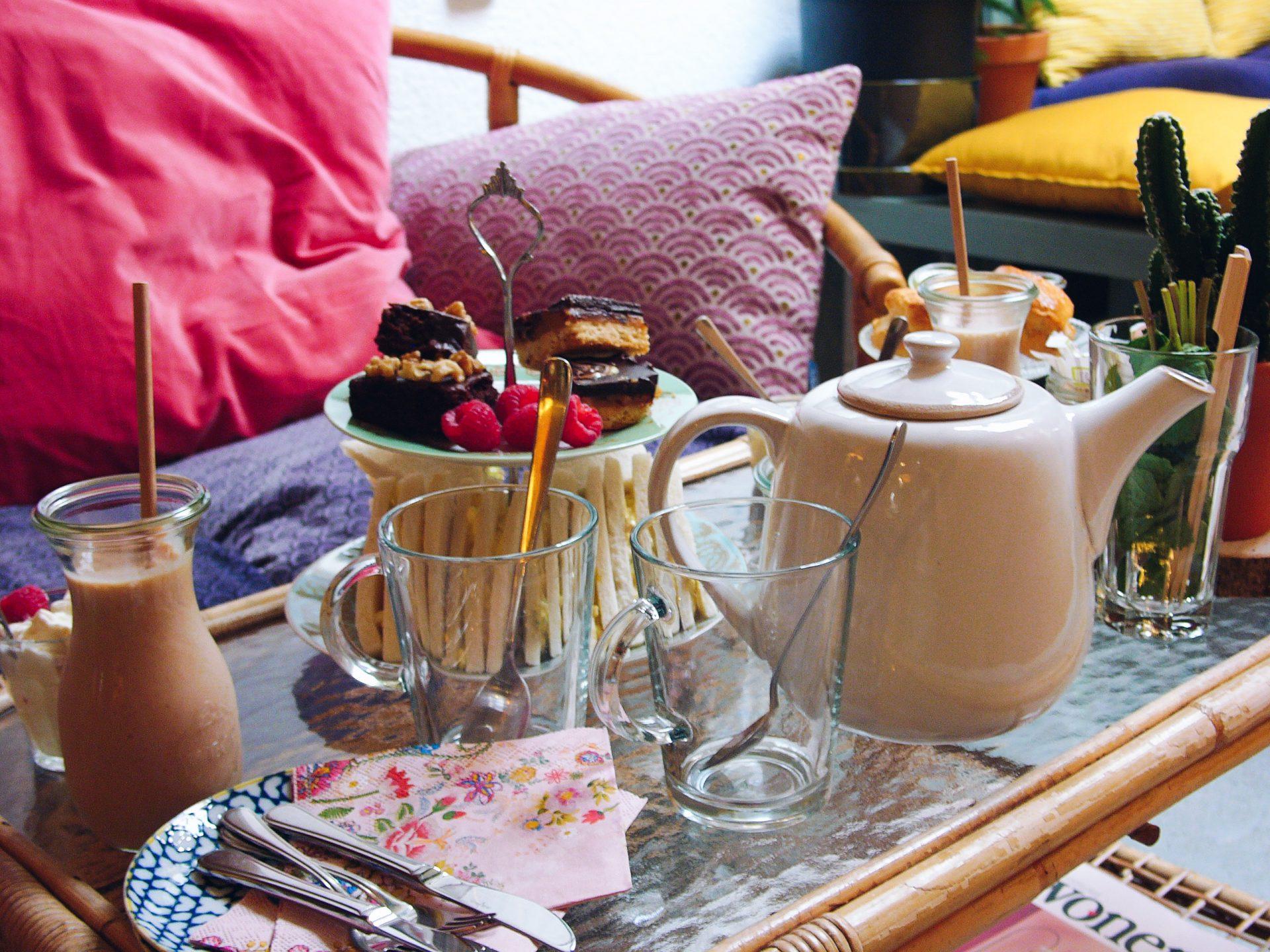 Groenlokaal high tea