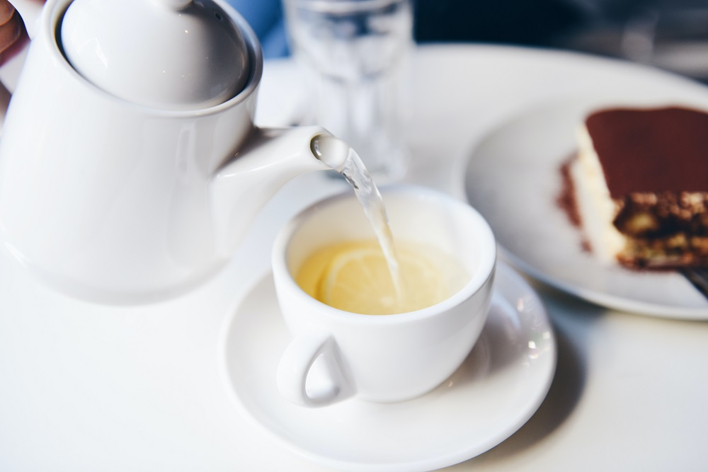 thee zonder kalk